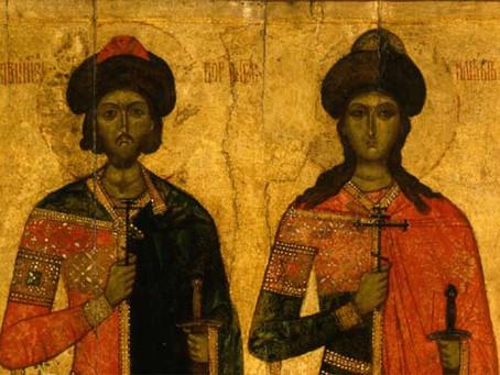Первые русские святые - армяне?