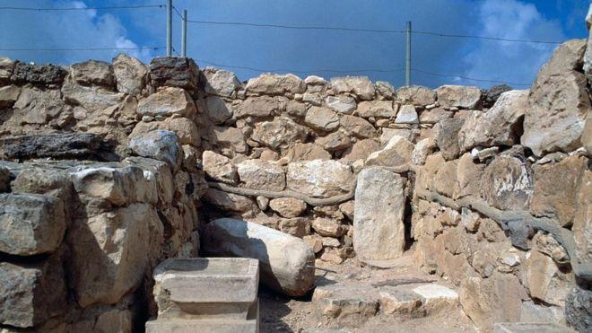 Храм в Араде считается уменьшенной копией храма Соломона