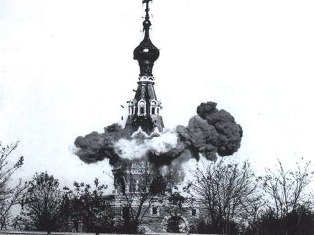 Первый турецкий фильм был посвящен сносу русского храма