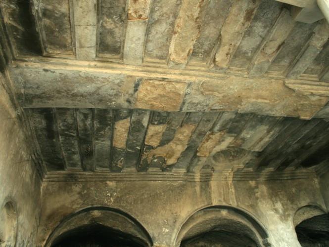 Уплисцихе (Зал Тамары, потолок)
