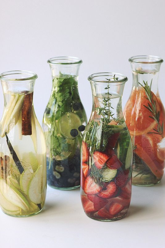 eau, water, infuse, summer, nutrition, été, detox, healthy,