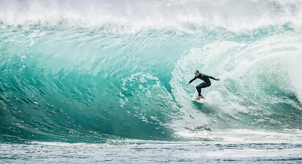 surf, vague, wave, bien-être, sport, attitude, détox, santé, bouger, aérer, légumes, fruits, alimentation