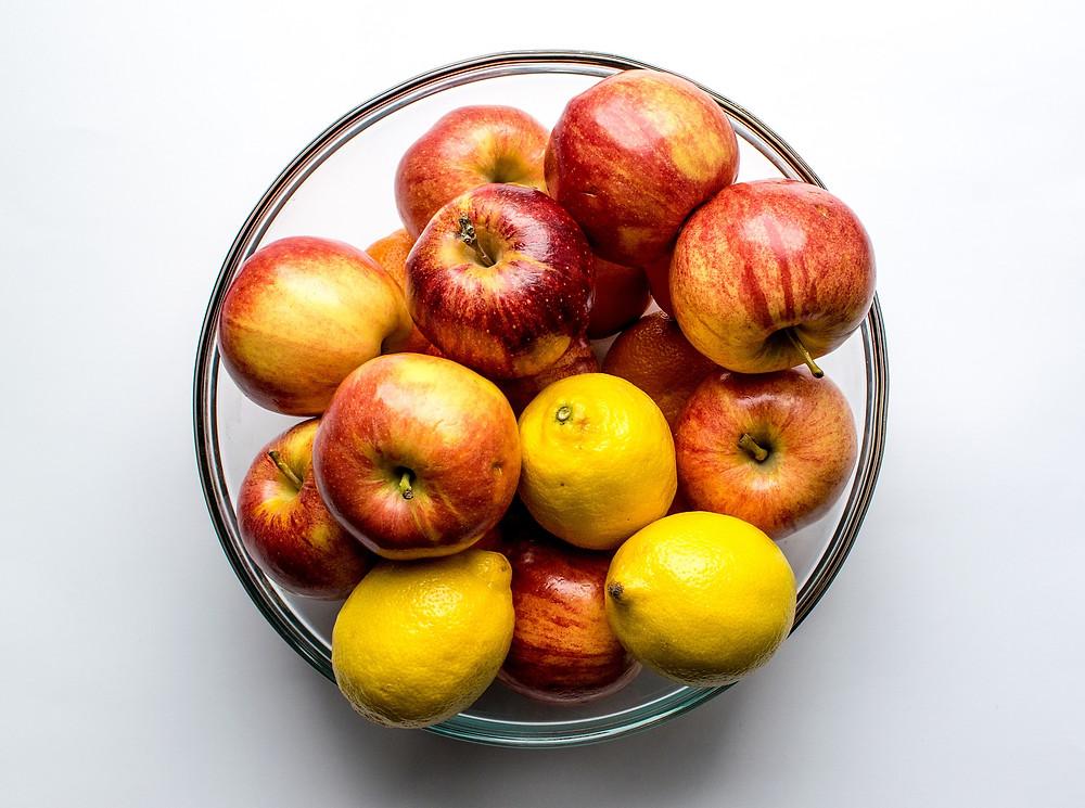 fruit, légume, bio, biologique, santé, sain, pur, frais, misuko, détox, pomme, citron, champ, agriculture