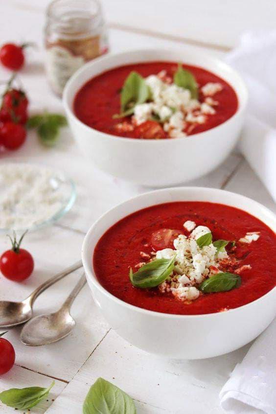 soupe, chaleur, été, froid, légumes, plante, fruit, détox, faim, manger, boire, misuko, betterave, feta, menthe
