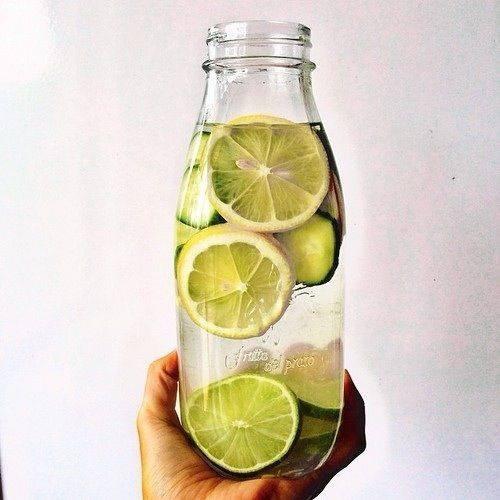 detox, water, ginger, lemon, citron, gingembre, sain, santé, vivant, frais, jus, misuko