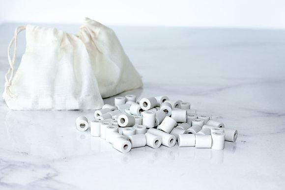 Perles de céramique purifiantes