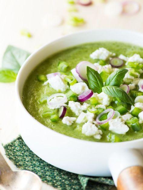 soupe, chaleur, été, froid, légumes, plante, fruit, détox, faim, manger, boire, misuko