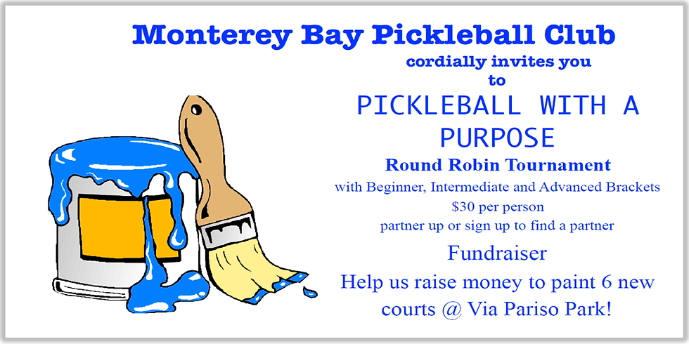Pickleball With A Purpose Tournament