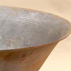 Steel fire & water bowl