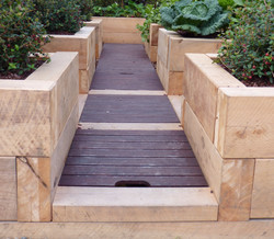 Composting system for small gardens