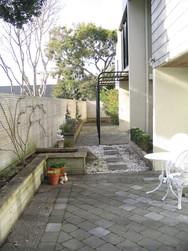 Long corridor & side garden before garden transformation
