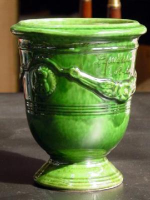 Glazed Anduze urns