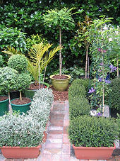 """Though many of the inhabitants are """"mobile"""", the garden has a well defined structure"""