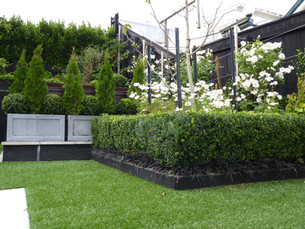 Artificial lawn now installed