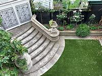 New garden design Thorndon Bowling Club,