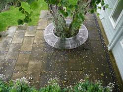 Custom designed tree seat