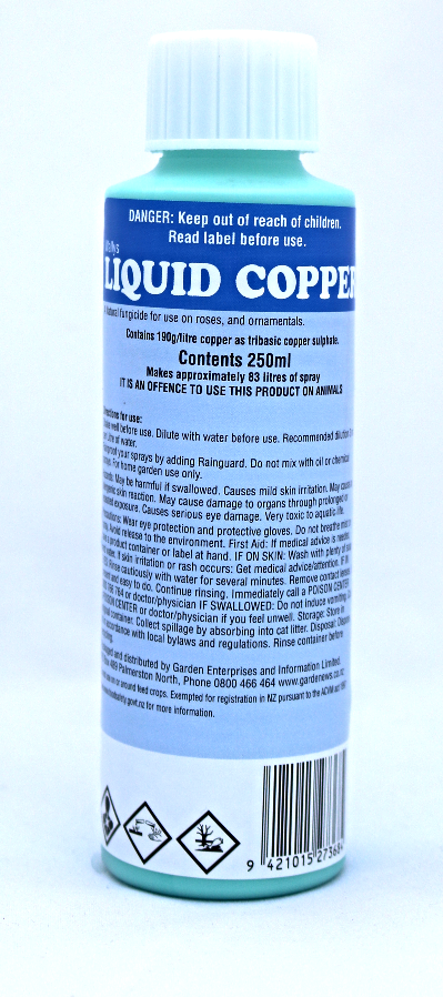 Buxus Spray - Liquid Copper