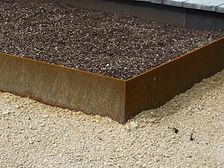 Corten Steel Garden Edging