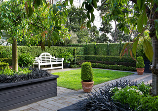 Read about this contemporary classic formal garden