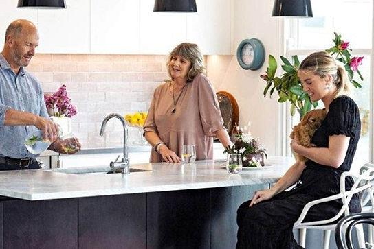Interior kitchen & garden design Wellington