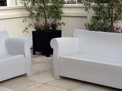 Bubble Club sofa & chairs