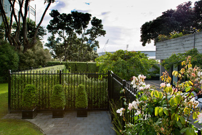 New Black fence for privacy & security