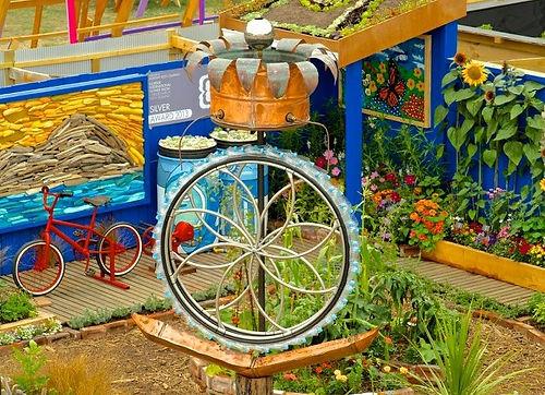 New category for flower show - school gardens