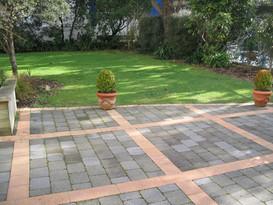 Before garden transformation