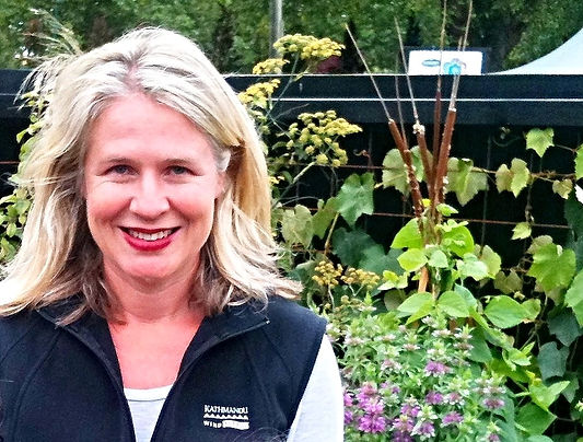 Inspiration for the award winning vege garden came from her mother's own veggie patch which tended to run wild at this time of the year.