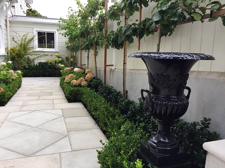 An architect's garden