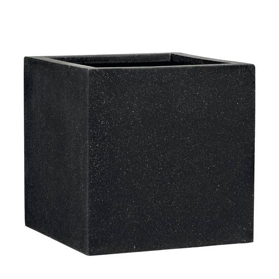 Square black cubes