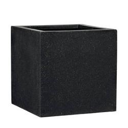 Square black cubes