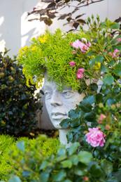 Garden sculpture by George Andrews