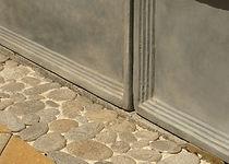 Stone & pebble mosaic