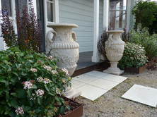 Planting ideas for a front entrance garden