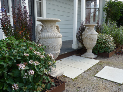 Planting ideas for a front entrance garden