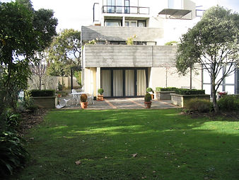 Before the garden redesign, the garden was something of a blank canvas