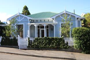Victoria villa with a formal front garden