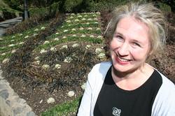 Garden designer Rachael Matthews
