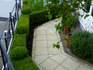 Replaced with a new path, formal hedges & ball ends