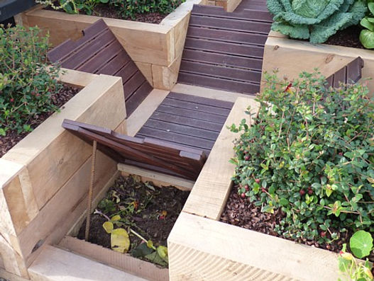 Clever composting in small spaces