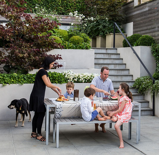 A bare sloping Wellington yard becomes a multi-tiered family-friendly playground