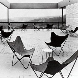 Butterfly Chairs in 1950s