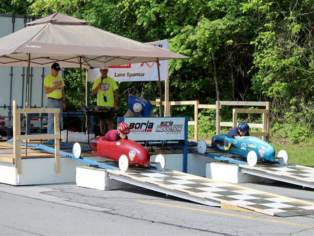 Young racers put STEM skills to test during Soap Box Derby