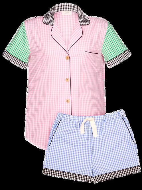 Gingham Pyjama Set