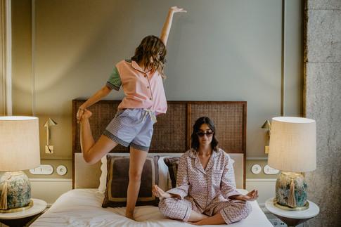 Under Sleepwear Morning Meditation