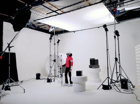 Studio di posa per shooting fotografici