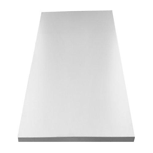 Borðplata 80x120 cm