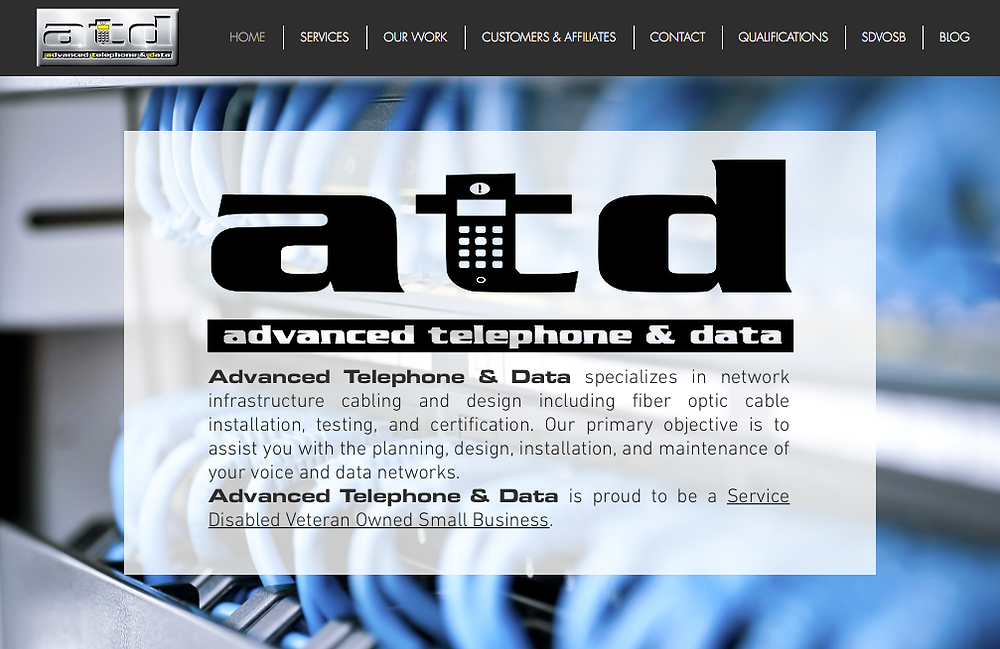 Advanced Telephone and Data Website
