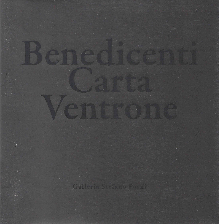 BENEDICENTI CARTA VENTRONE